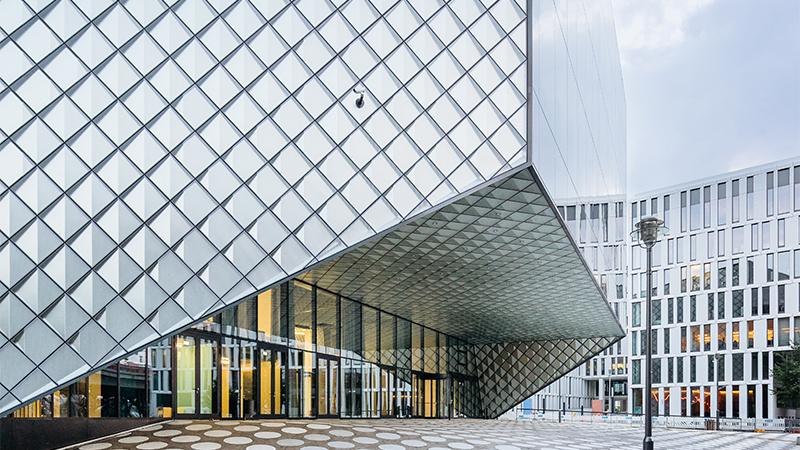 Eingang des Futuriums in Berlin.